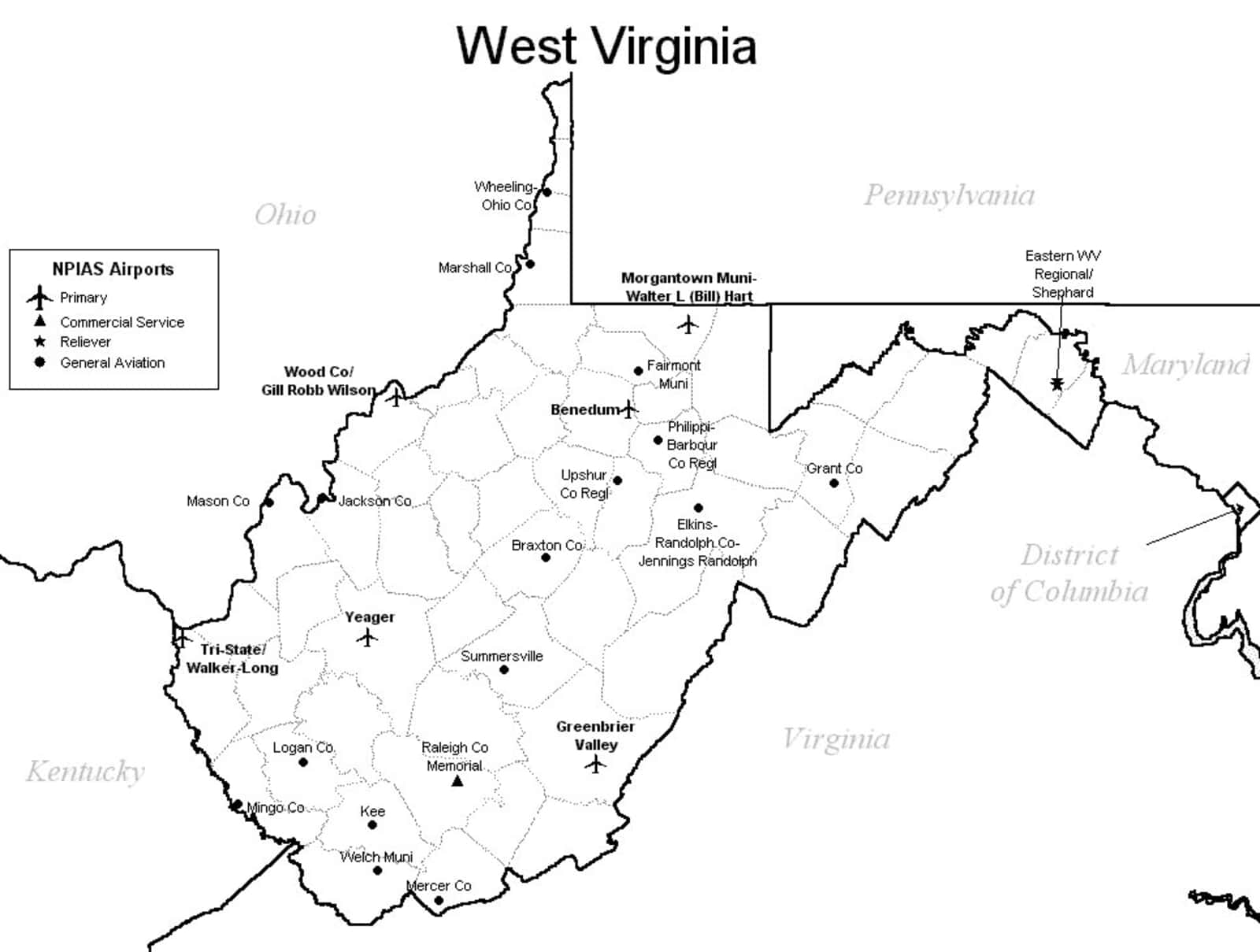Wv Airports   Best Airport 2018