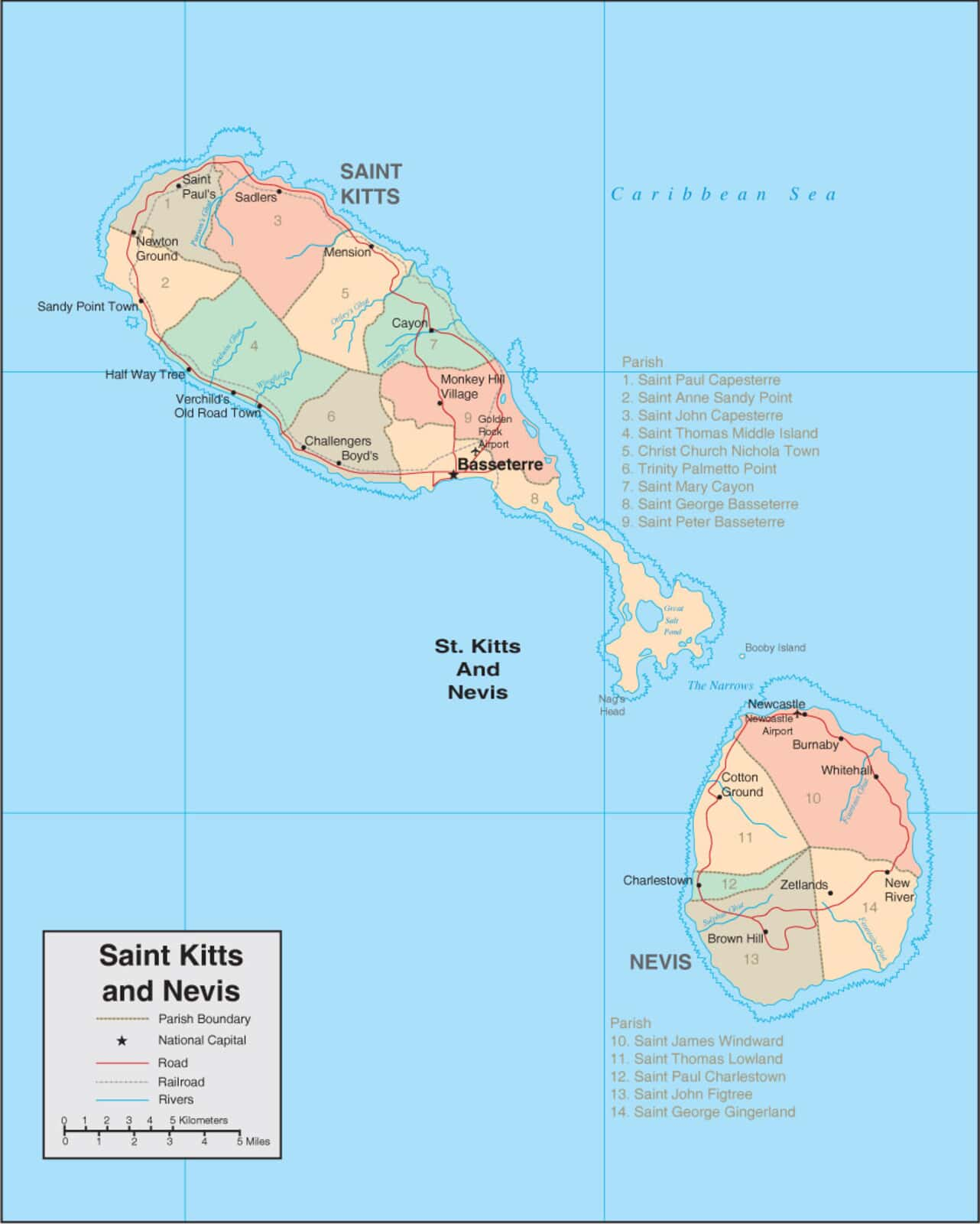St Kitts Map - Detailed Map of St Kitts and Nevis on ukraine map, senegal map, albania map, montenegro map, redonda map, slovenia map, anglosphere map, svalbard and jan mayen map, caribbean map, yisrael map, monaco map, tokelau map, timor-leste map, lesotho map, virgin islands map, nevis island map, south georgia and the south sandwich islands map, serbia map, nevis on world map, singapore map,