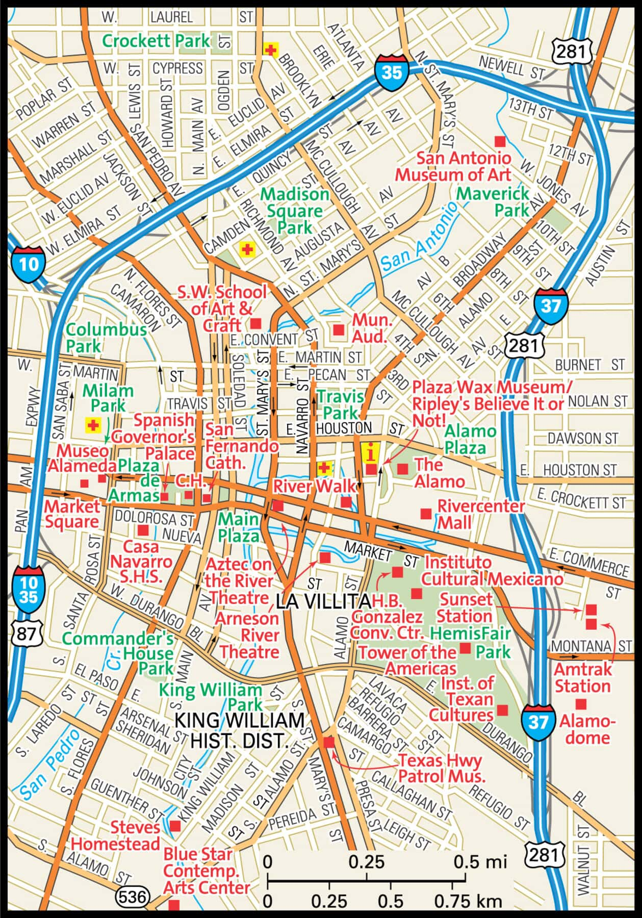 San Antonio Map - Guide to San Antonio, Texas on texas street map, lombard street san francisco map, ft hood street map, sweetwater street map, greenville street map, oldham county street map, city of san angelo texas map, northern kentucky street map, mt pleasant street map, bexar county street map, el paso county street map, oklahoma city area street map, georgetown street map, old san juan street map, south san francisco street map, east austin street map, alamodome street map, jacksonville street map, fairfield county street map, fresno street map,