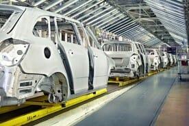 automobile assembly plant