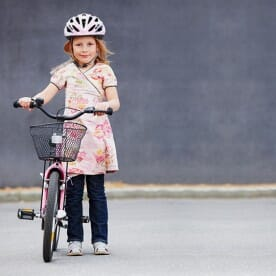 Bicycle and Child