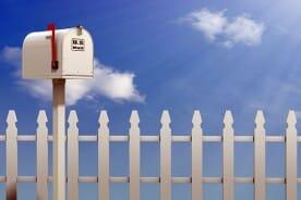mailbox at a home address