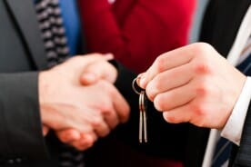 real estate transaction between a broker and a home buyer