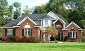 luxury real estate - brick house