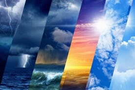 Weather Forecast Collage