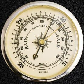 a barometer weather instrument